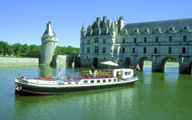 French Hotel Barge NYMPHEA Barging the Loire in France www.BargeCharters.com
