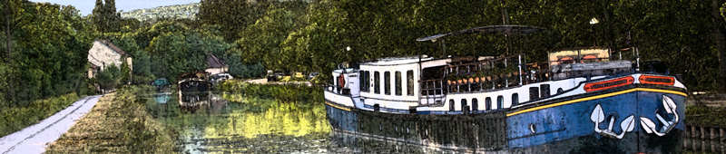 French Hotel Barges Vacations Cruises Tours Charters Barging in France England Scotland Ireland Holland Germany Italy BargeCharters.com