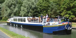 Hotel Barge PANACHE - Barging in France, Holland, Germany & Luxembourg - www.BargeCharters.com